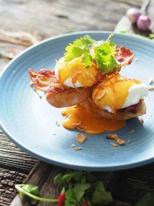 Bangkok Eggs Benedict 1