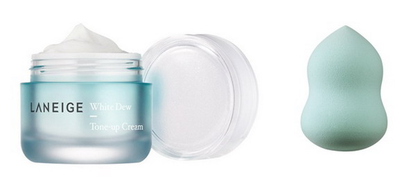 LANEIGEWhite Dew Tone-Up Cream WATER DROP SPONGE