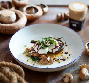 Mushroon spinach 1