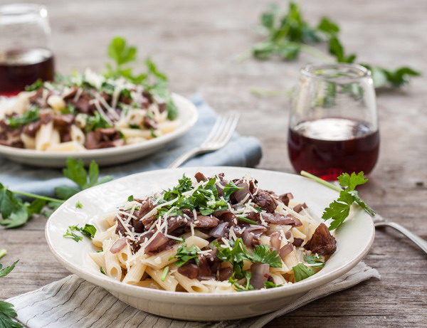 Wine Recommend red wine with pasta