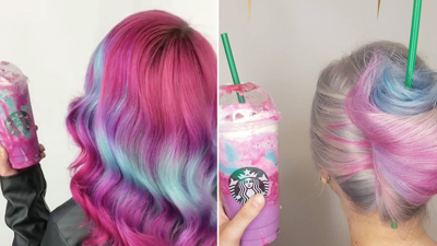 Unicorn-Frappuccino-Hair