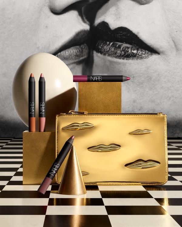 Man Ray for NARS Holiday 2017 The Kiss Velvet Matte Lip Pencil Set