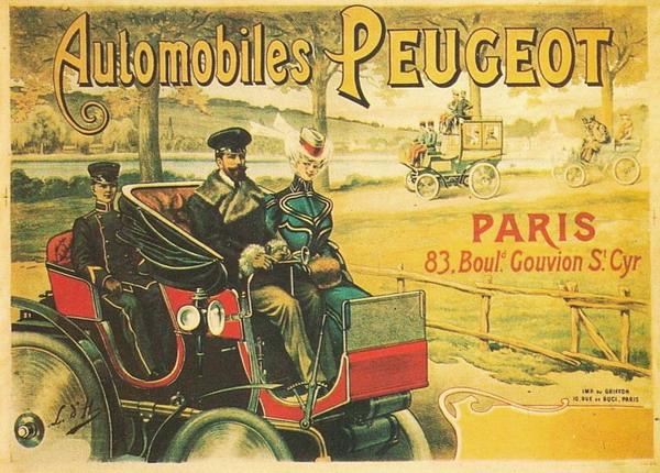 City Break Paris Art & Style Golden Age of Paris 2 Peugeot