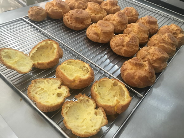 Fully Baked Story French Pastry Class 9 Choux Cream