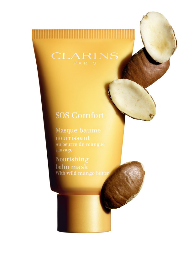 Clarins SOS Mask Comfort and Mango Kernel
