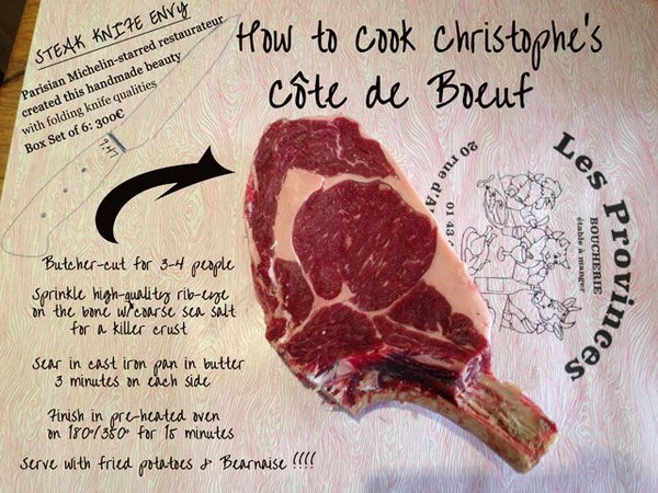 City Break Paris 27 Eat Steak in France 2