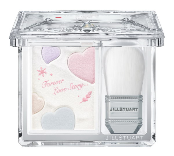 004 JILL STUART Snowy Love Drop Face Powder_open