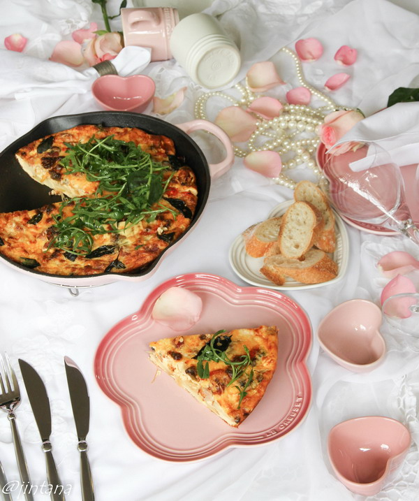 Le Creuset and Frittata for Valentine Day 3