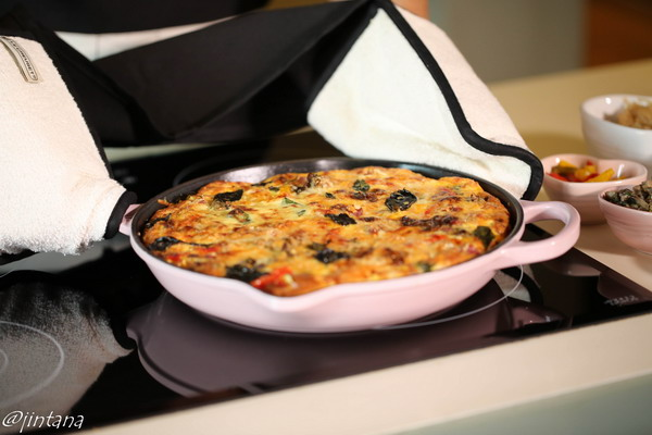 Le Creuset and Frittata for Valentine Day 6