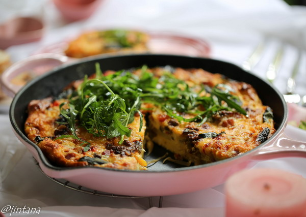 Le Creuset and Frittata for Valentine Day 8