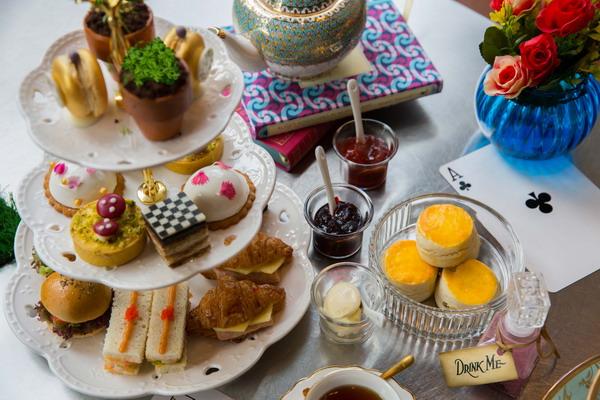 137 Pillars Mad Hatter Afternoon Tea Alice in Wonderland 1