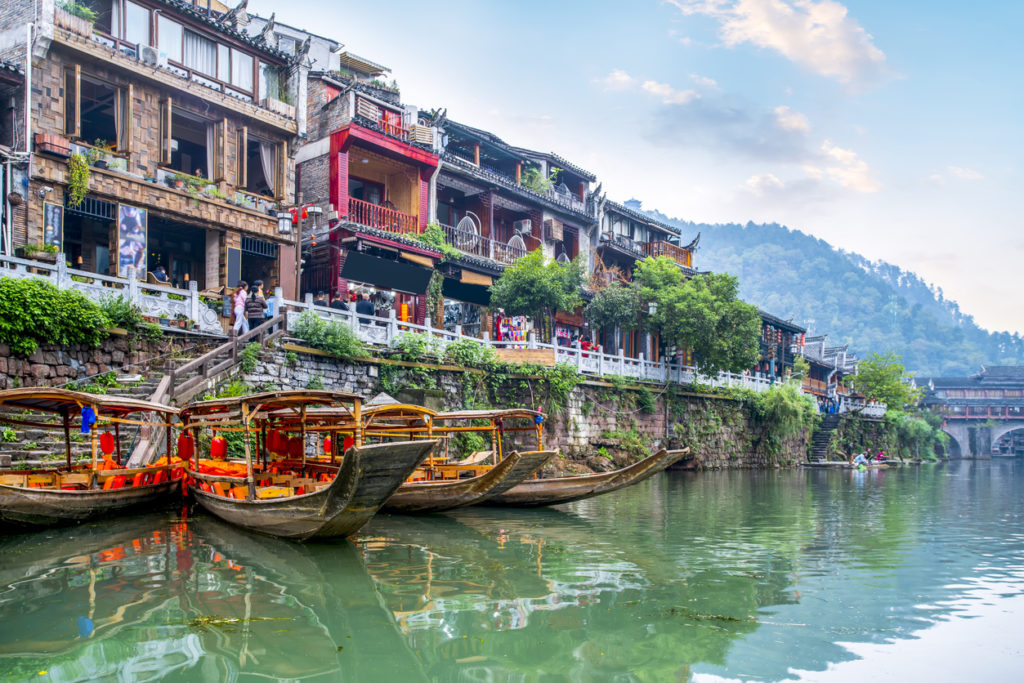 Fenghuang Ancient City, Hunan Province, China